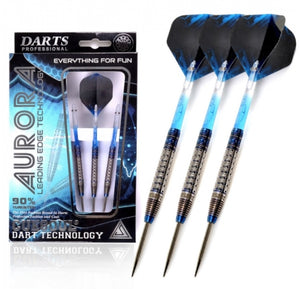 Cuesoul AURORA 21/23/25g Tungsten Dart Set with Blue Titanium Nitride Coating