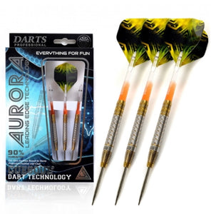 Cuesoul AURORA 21/23/25g Tungsten Dart Set with Gold Titanium Nitride Coating