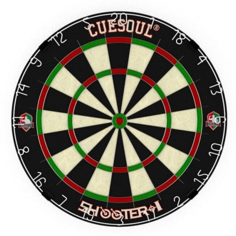 "CUESOUL SHOOTER-I 18"" 1-1/2"" Official size tournament Kenyan Sisal bristle dartboard"