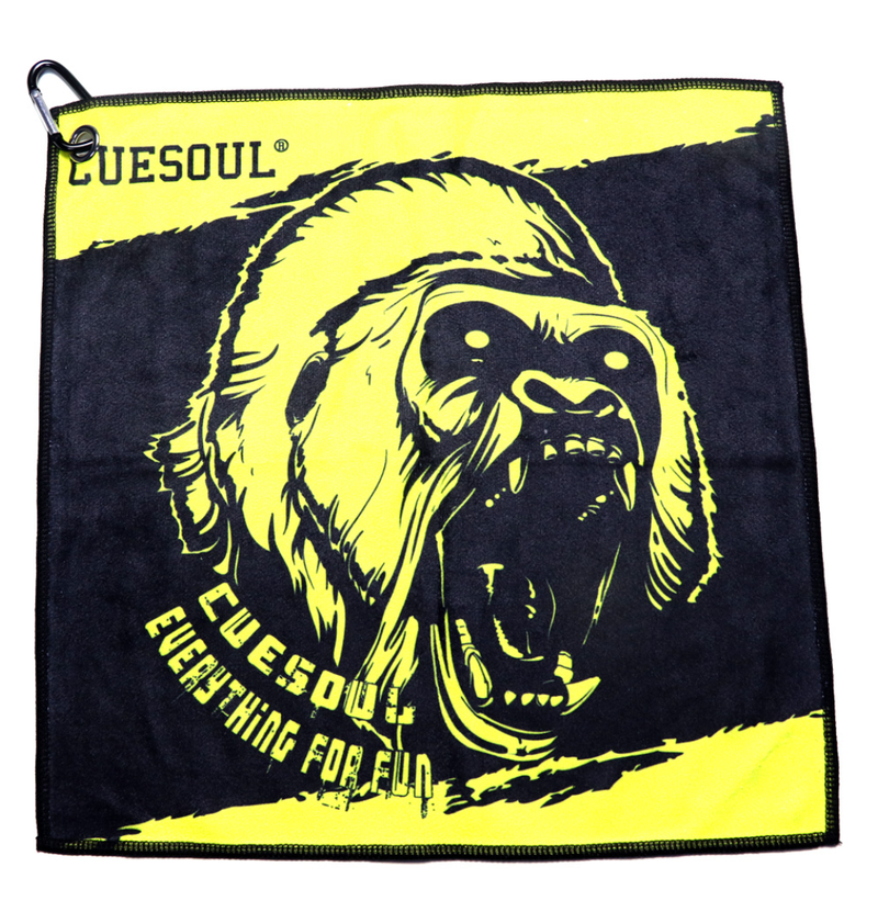 11. CUESOUL Microfiber Sport Towel with Hanging Hook, Quick Dry