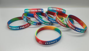 CUESOUL Silicone Wristbands (3 Color Options) 3 Wristbands per set