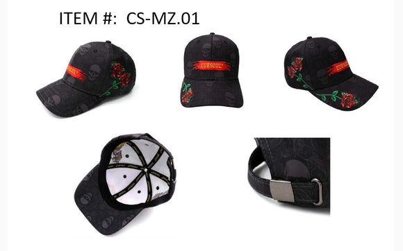 CUESOUL Unisex Polo Style Baseball Cap Embroidered - Classic Plain Hat for Your Dart's Journey