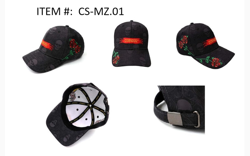 11. CUESOUL Unisex Polo Style Baseball Cap Embroidered - Classic Plain Hat for Your Dart's Journey