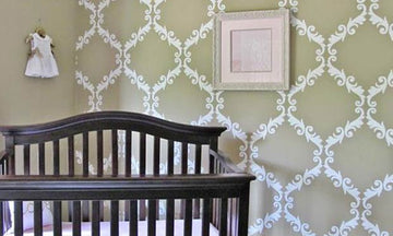 Stencil Ideas for a Dream Nursery