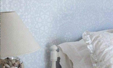 Lovely Lace Stencils for Sweet Stenciled Spaces