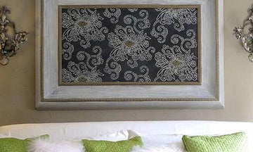 Hung Up on Stenciling: Wonderful Wall Art Ideas