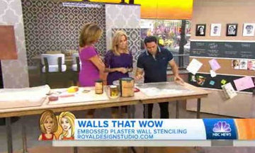 Royal Design Studio Stencils on the Today Show!
