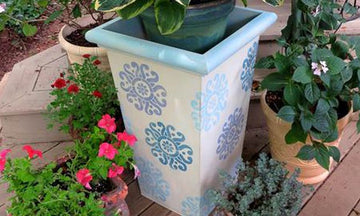 11 DIY Outdoor Stencil Projects for Summertime Fun