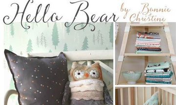 Say Hello Bear! New Stencils from Bonnie Christine