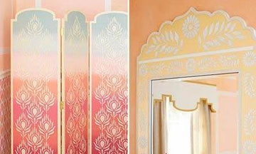 Royal Design Studio Stencils are a Lowe's Creative Idea!