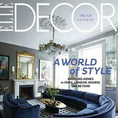Moroccan Stenciled Heaven In Elle Decor