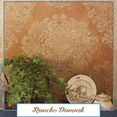 Royal Recipe: How to Stencil a Rustic Italian Damask Pattern
