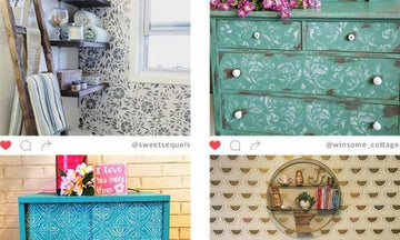 Decorate with Stencils for an Insta-Inspiring Home