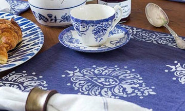 Color Trend: 8 Indigo Blue Stencil Decor Ideas