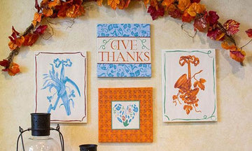 Thanksgiving Stencil Tutorials to Fall For