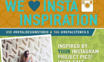 New Year for New Insta-Inspiration & New Stencil Projects