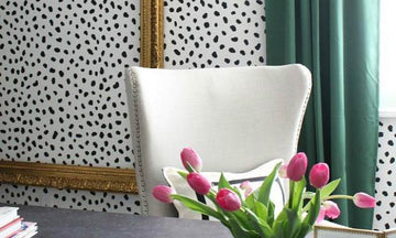 Go Wild & Decorate with Cheetah Spots Wall Stencils!