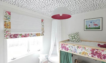 Spotted: Animal Print Ceiling Stencils