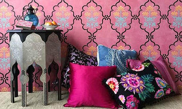 Fresh New Hue: Pink Stencil Ideas from Subtle to Sensational