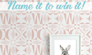 It's Your Chance! Name & Win this Modern Stencil