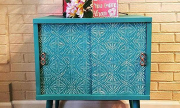 Finishing Furniture Touches with Stencil Designs