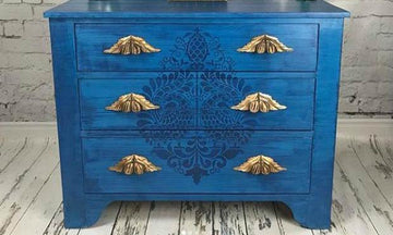 The Bold & the Beautiful: Furniture Painting Stencils