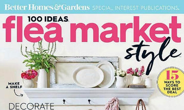 Better Homes & Gardens: Stenciling with Flea Market Style