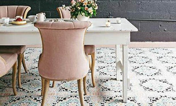 Dare to Be Different with Dining Room Stencils