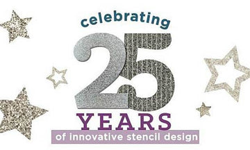 Royal Design Studio Stencils Turns 25!