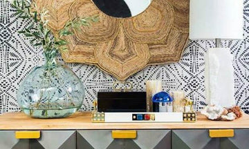 Get the Look: Tribal Modern Mid Century Stencil Ideas