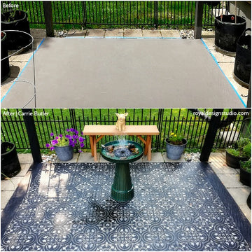 Before & After: Pretty Patios & Porches