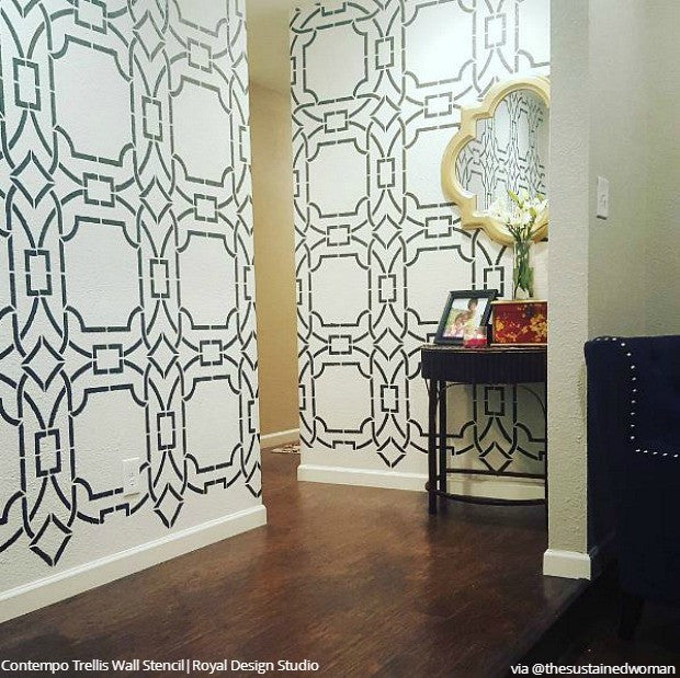 the best stencil ideas for diy decorating and interior paint projects rh royaldesignstudio com