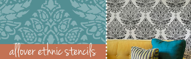 wall stencils decorating