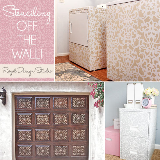 Stencil Splashes in Unexpected Surfaces! | Royal Design Studio