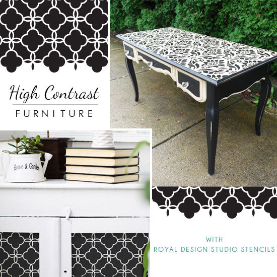 Black and White DIY Furniture Inspiration | Royal Design Studio