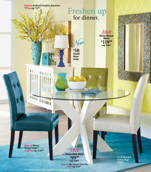Moroccan Stencil used for Casablanca Trellis in Pier 1 Imports catalog