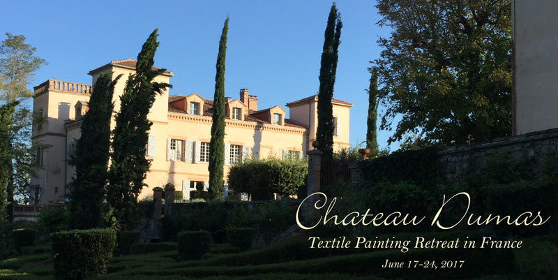 Fabric Painting Retreat South of France June 2017