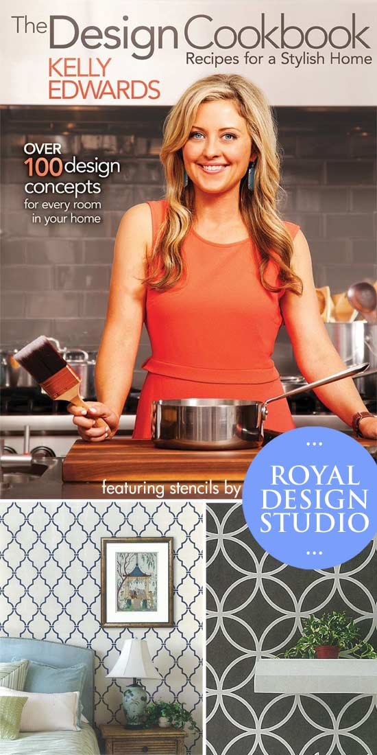 The Design Cookbook featuring Royal Design Studio Stencils