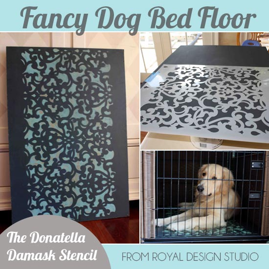 Pattern and Stencil Inspiration for Creating Chic Places and Spaces for Pets