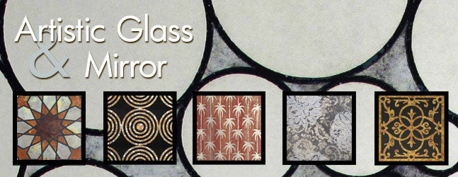 antique glass finishes and antique mirror finishes and products