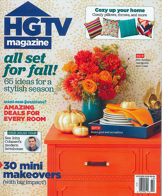 HGTV features Royal Design Studio: DIY Craft Projects with Sharpies and Craft Tile Stencils