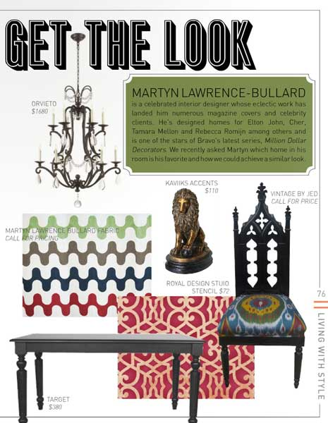 Get The Look - Chez Sheik Moroccan Stencil