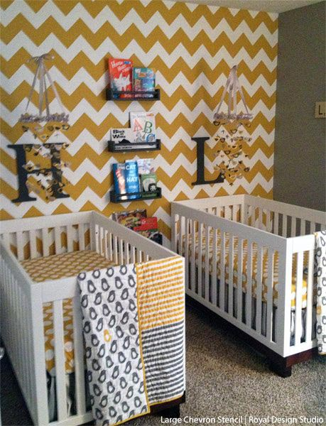 chevron template for walls - inspiration for stencils stenciling patterns and diy