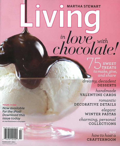 Martha Stewart Living February 2011 cover