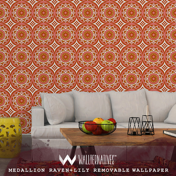 New Globally Inspired Wall Stencils for Exotic and Chic Interior Design