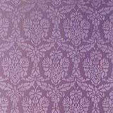 metallic damask stencil