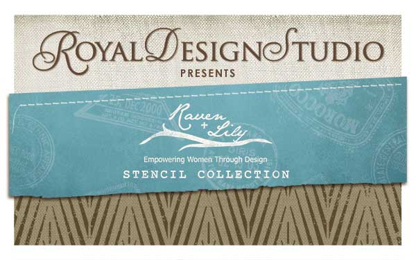 A Stencil Collection Designed to Make a Difference: Raven & Lily | Royal Design Studio