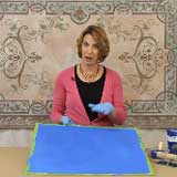 Apply Modello Designs Decorative Masking Stencils on SkimStone