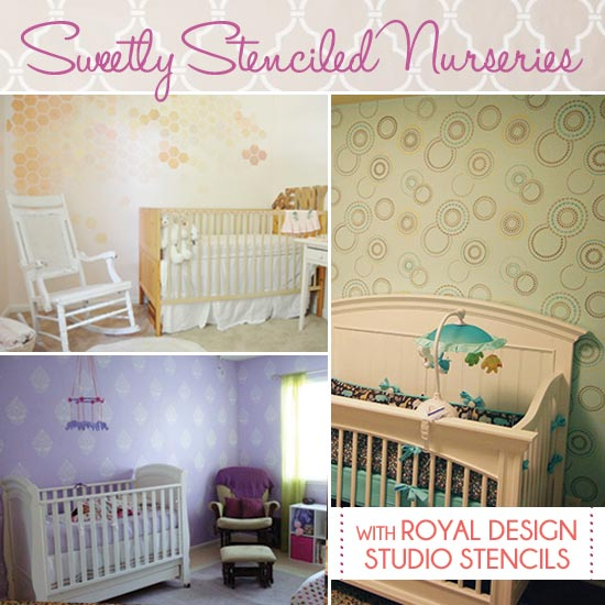 Stenciled Nurseries