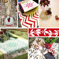 http://www.royaldesignstudio.com/blogs/stencil-ideas/57071301-holiday-decorating-ideas-with-christmas-stencils
